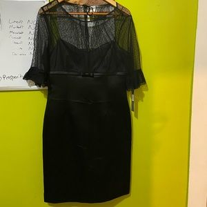 A stunning black dress for special occasions